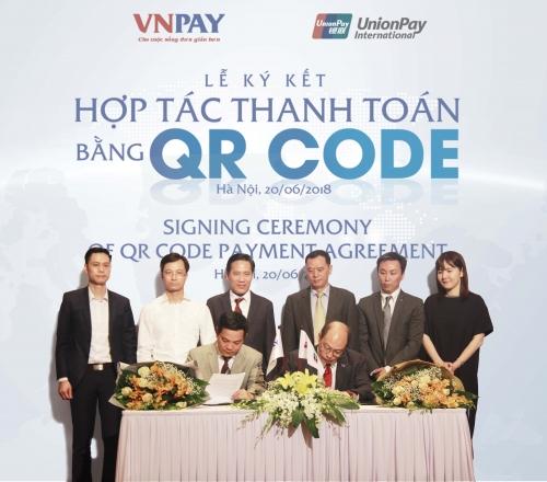 VNPAY và UnionPay hợp tác thanh toán QR CODE