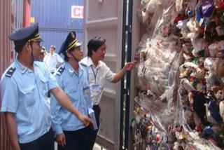 Mạnh tay xử lý rác thải nhập khẩu