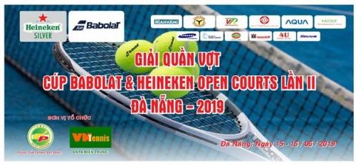 Hơn 200 vận động viên tham gia Giải Quần vợt tranh cúp Babolat & Heineken open Court 2019