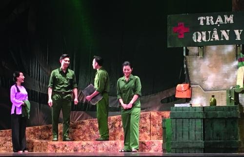 Đề tài chiến tranh-một mạch nguồn của sân khấu Việt