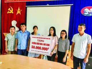 """Công đoàn Cơ quan NHNN Trung ương: Ấm áp nghĩa tình """"Vì trẻ em Việt Nam"""""""