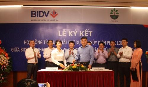 BIDV tài trợ vốn cho Dự án Thủy điện Phúc Long