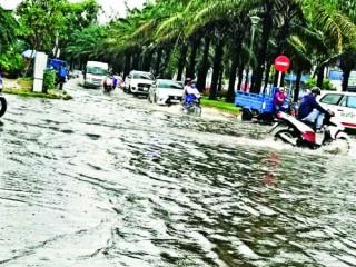 TP.HCM: Đầu tư nhiều dự án, đến mùa mưa vẫn ngập