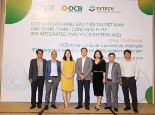 OCB triển khai hệ thống IIAS đầu tiên tại Việt Nam
