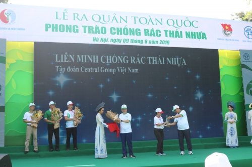 Central Group Việt Nam chính thức trở thành Thành viên Liên minh Chống rác thải nhựa