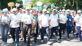 Ra quân phong trào chống rác thải nhựa