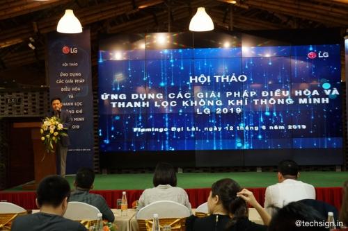 LG đẩy mạnh phát triển các giải pháp điều hòa thông minh
