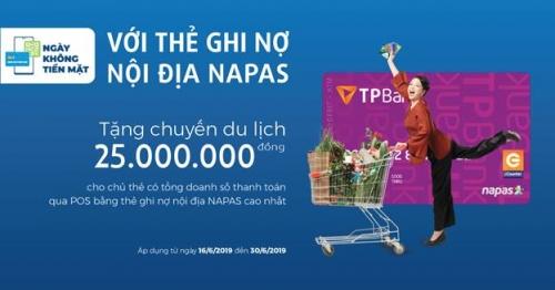"""""""Ngày không tiền mặt"""": Cùng TPBank đi đầu xu hướng thời đại"""
