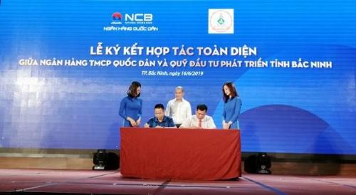 NCB hợp tác với các quỹ đầu tư phát triển địa phương