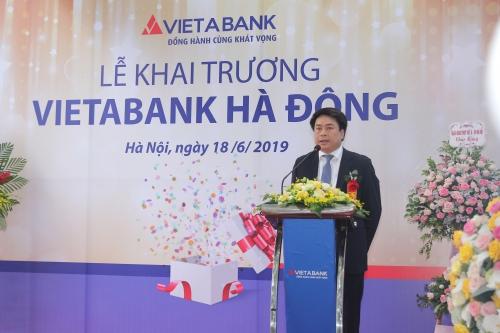 Chính thức khai trương VietABank chi nhánh Hà Đông