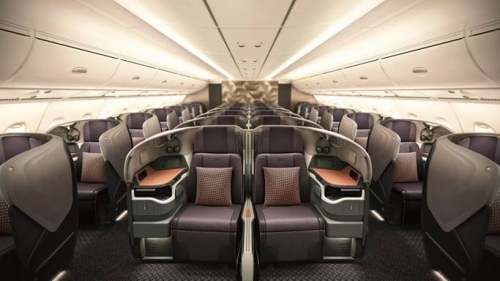 Singapore Airlines nâng cấp cabin 14 chiếc Airbus A380