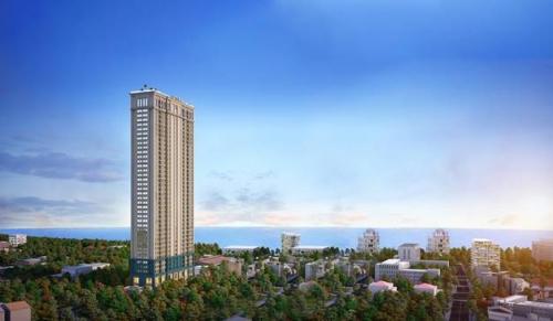 """Bất động sản Quy Nhơn """"nóng"""" nhờ dự án căn hộ cao cấp"""
