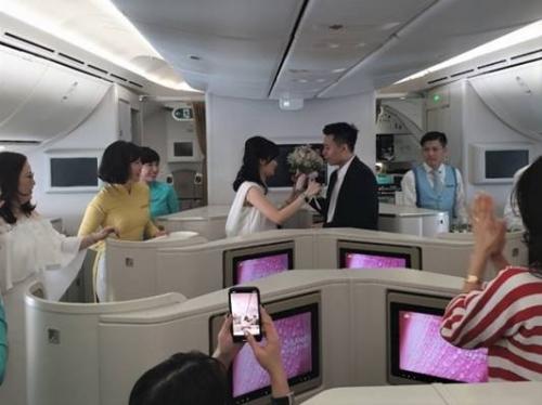Vietnam Airlines gia tăng dịch vụ 5 sao