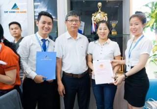 Đất Xanh Đà Nẵng công chứng sang sổ cho khách hàng dự án Palm Village