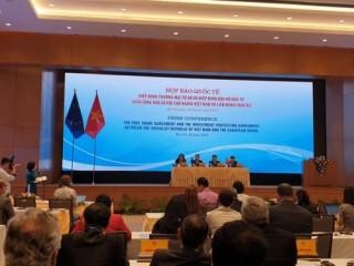 Thông cáo chung về ký kết EVFTA và IPA