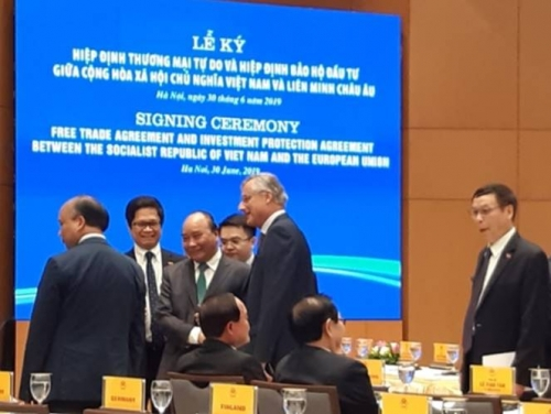 Thành lập Hội đồng DN Việt Nam – EU và xây dựng Chương trình hành động nhằm thúc đẩy thực hiện EVFTA