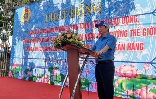 Công đoàn Ngân hàng Việt Nam: Phát động tháng hành động về an toàn vệ sinh lao động, phòng chống cháy nổ, an toàn kho quỹ
