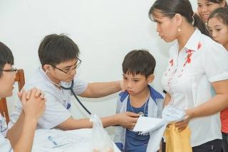 Khám sàng lọc bệnh tim miễn phí cho trẻ em tại Kiên Giang