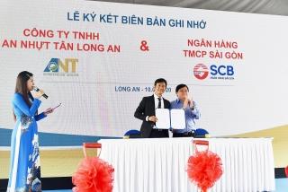 SCB tài trợ vốn cho dự án khu công nghiệp An Nhựt Tân