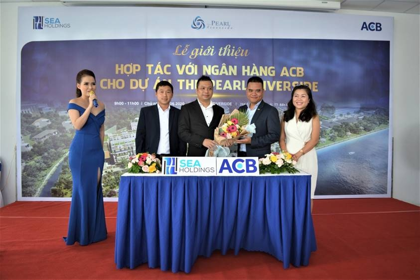 acb bao lanh khu nha pho compound ven song the pearl riverside