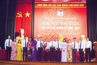 Đảng bộ Học viện Ngân hàng tổ chức thành công Đại hội Đại biểu lần thứ XXIII