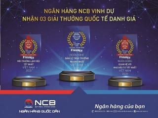 NCB giành 3 giải thưởng quốc tế