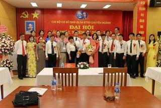 Đại hội Chi bộ Ban Quản lý dự án Đầu tư xây dựng chuyên ngành lần thứ nhất
