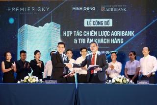 Công ty Minh Đông hợp tác chiến lược với Agribank
