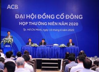 Năm 2020: ACB đặt mục tiêu lợi nhuận trước thuế 7.636 tỷ đồng và tỷ lệ chia cổ tức 18%