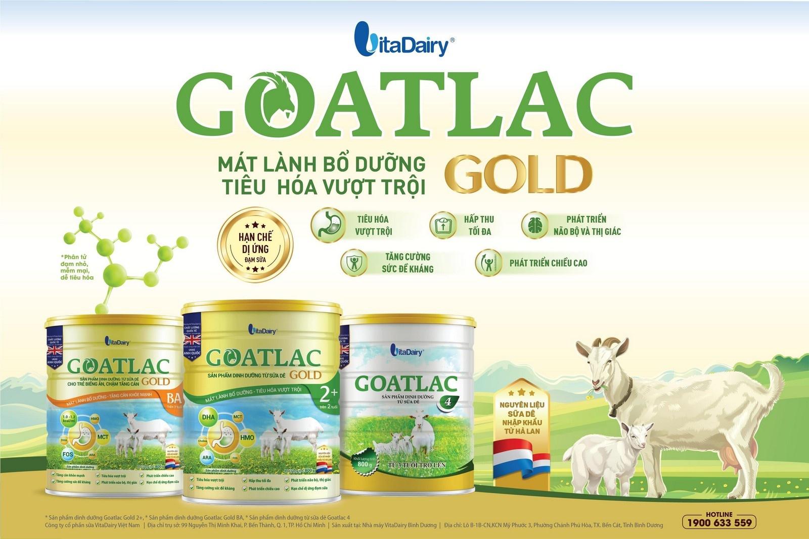 vitadairy ra mat san pham goatlac gold giup tre tieu hoa vuot troi