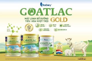 VitaDairy ra mắt sản phẩm Goatlac Gold giúp trẻ tiêu hoá vượt trội