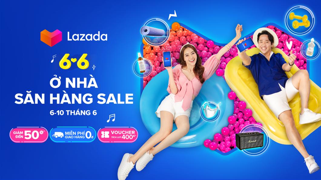 """Lazada Việt Nam khởi động Lễ hội mua sắm 6.6 """"Ở nhà, săn hàng sale"""""""
