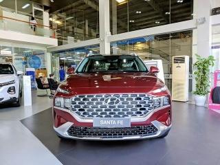 Hyundai Santa Fe 2021 đã có mặt tại Hyundai Sông Hàn