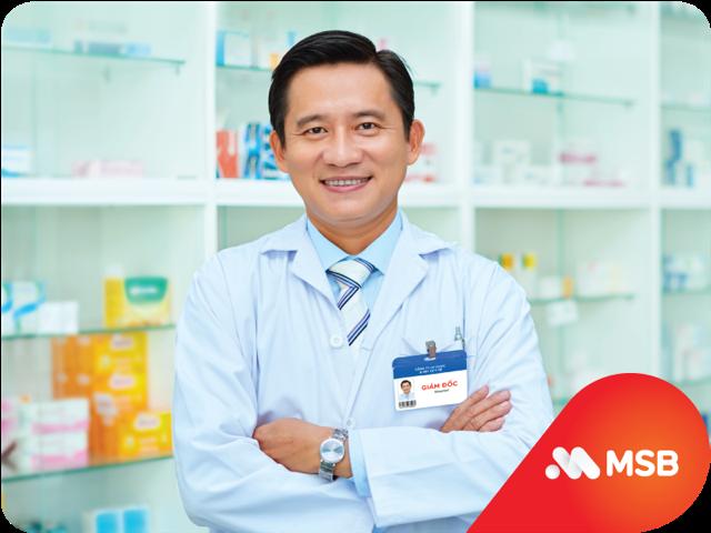 MSB tiếp sức cho doanh nghiệp ngành Dược và Y tế