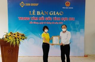 Trung tâm hồi sức tích cực hiện đại nhất miền Bắc chính thức được bàn giao cho Bắc Giang