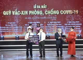 VietinBank ủng hộ 60 tỷ đồng Quỹvắc-xinphòng COVID-19