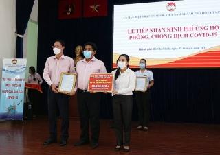 NHCSXH TP.Hồ Chí Minh chung tay cùng cả nước đẩy lùi đại dịch COVID-19