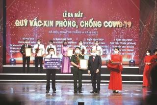 MB chung tay cùng Quỹ vaccine phòng Covid-19