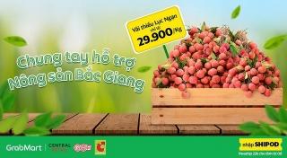 Big C và Grab hỗ trợ tiêu thụ nông sản Bắc Giang
