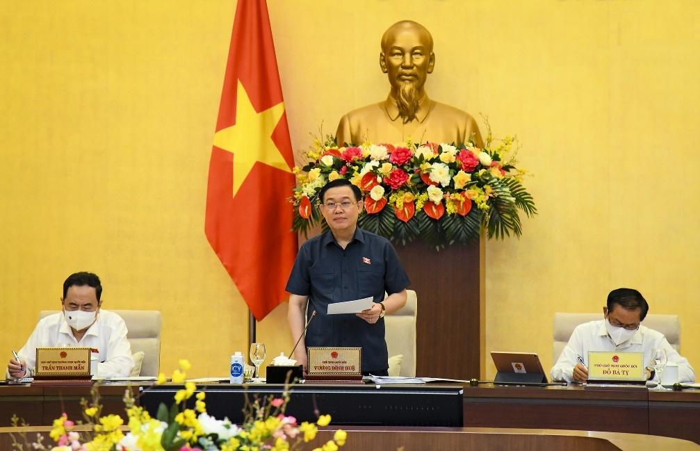 Chương trình nghị sự kỳ họp thứ nhất, Quốc hội khóa XV