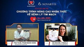 VNHA và Novartis hợp tác nâng cao nhận thức về bệnh lý tim mạch