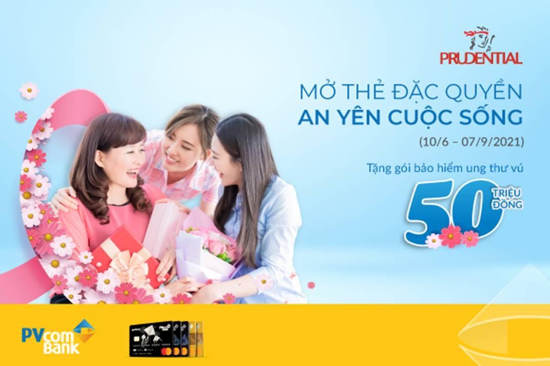 pvcombank day manh uu dai bao hiem cho chu the tin dung
