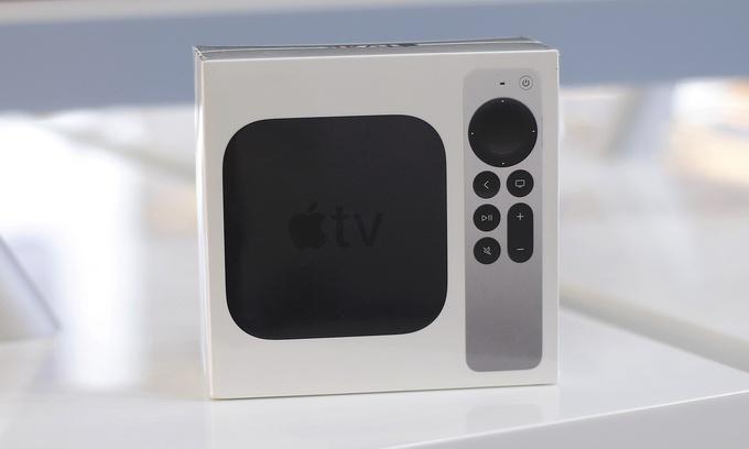 apple tv ban chay o viet nam