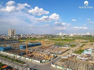 Hé lộ tiến độ thi công khu đô thị Kim Chung - Di Trạch
