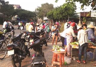 TP. Hồ Chí Minh:Kiểm soát chợ tự phát để ngăn nguy cơ dịch bệnh
