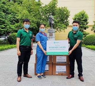 MERAP trao tặng dược phẩm hỗ trợ ngành y tế