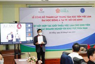 Đại học Đông Á tạo việc làm cho sinh viên tại khu vực phía Nam