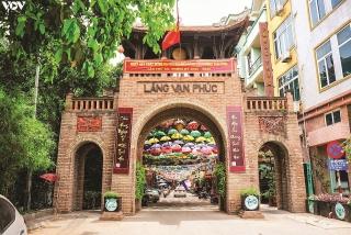 Bâng khuâng cổng làng
