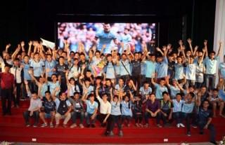Hội Cổ động viên Manchester City sẽ được hỗ trợ từ SHB
