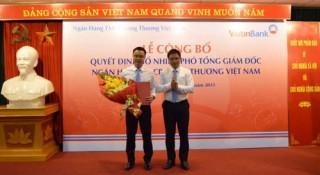 VietinBank có thêm một Phó tổng giám đốc